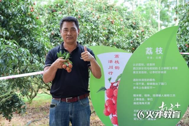 湛川河谷荔枝种植专业合作社社长黄民军