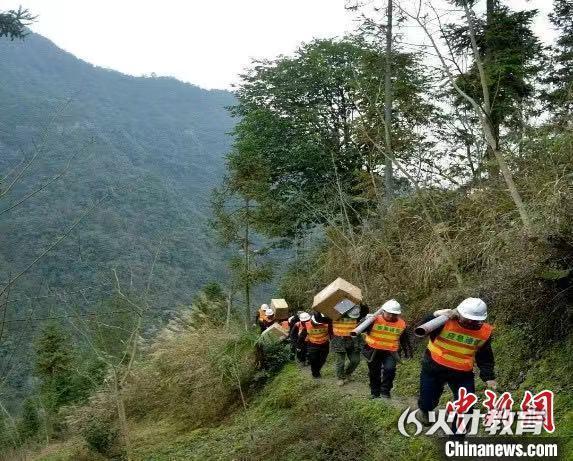 中国铁塔建设宣恩县4G网络 中国铁塔供图